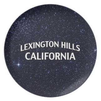Lexington Hills California Dinner Plate