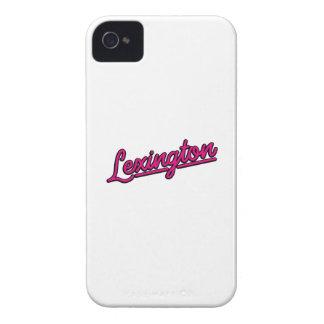 Lexington in magenta iPhone 4 cover