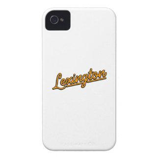 Lexington in orange iPhone 4 covers