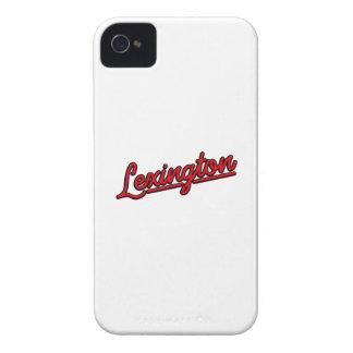 Lexington in red iPhone 4 Case-Mate cases