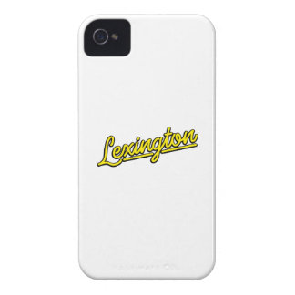 Lexington in yellow iPhone 4 Case-Mate cases