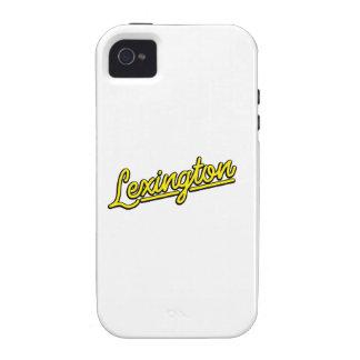 Lexington in yellow iPhone 4 cases