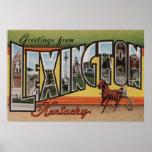Lexington, Kentucky - escenas grandes de la letra Posters