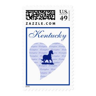 Lexington Kentucky Horse Lover Postage Stamps