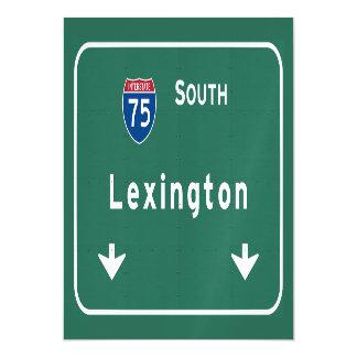 Lexington Kentucky ky Interstate Highway Freeway : Magnetic Card