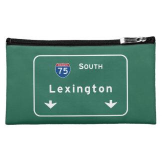 Lexington Kentucky ky Interstate Highway Freeway : Makeup Bag