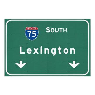 Lexington Kentucky ky Interstate Highway Freeway : Photo Print