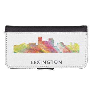 LEXINGTON KENTUCKY SKYLINE WB1 - WALLET PHONE CASE FOR iPhone SE/5/5s