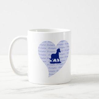 Lexington KY Horse 2 Revised Coffee Mug