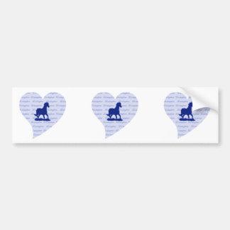 Lexington KY Horse Bumper Sticker