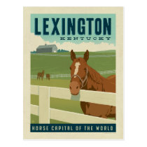 Lexington, KY | Horse Capital of the World Postcard