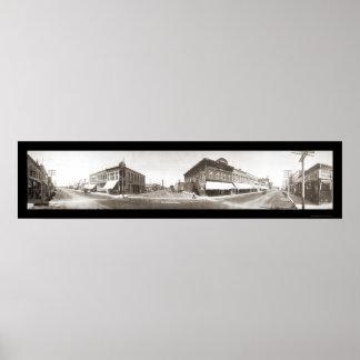 Lexington, NE Photo 1909 Print