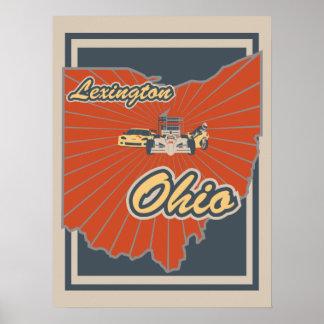 Lexington, Ohio Art Print - Travel Poster