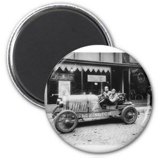 Lexington, Pikes Peak Car: 1921 2 Inch Round Magnet