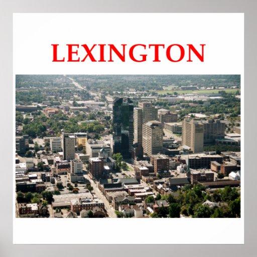 Lexington Posters