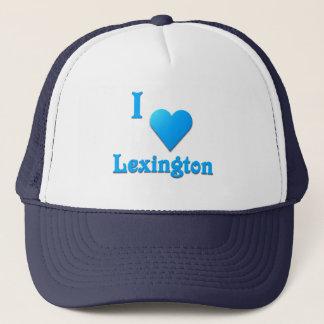 Lexington -- Sky Blue Trucker Hat