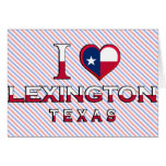 Lexington, Texas Greeting Card