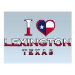 Lexington, Texas Post Card