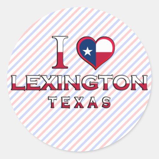 Lexington, Texas Sticker