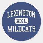 Lexington - Wildcats - High - Lexington Classic Round Sticker