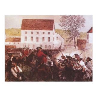 Lexington y concordia tarjeta postal