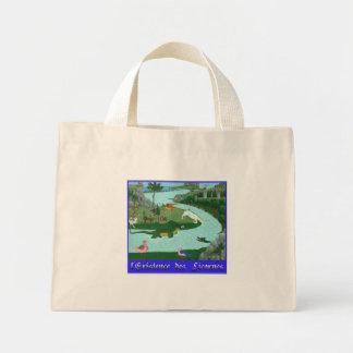 L'existence des Licornes Totebag Canvas Bags