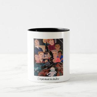 L'experience en douleur grande tasse mugs