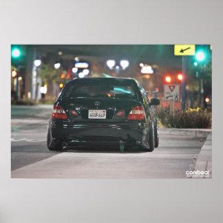 Lexus GS Adam Poster