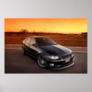 Lexus IS200 Poster