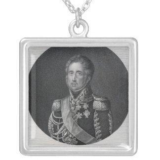 Ley de Jacques, Marquis de Lauriston Colgante Cuadrado