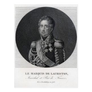 Ley de Jacques, Marquis de Lauriston Postales