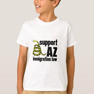 ley de la inmigración de la ayuda AZ Playera