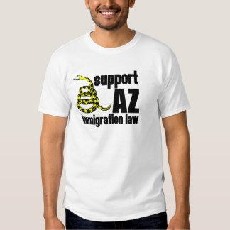 ley de la inmigración de la ayuda AZ Poleras