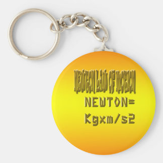 Ley de neutonio fresca del movimiento llavero redondo tipo pin