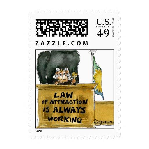 Ley del pequeño sello cuadrado de la atracción