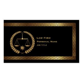 Ley y tarjeta de visita legal