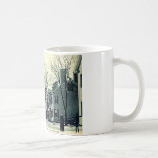 Leyden St Pilgrim Plymouth MA c1908 Coffee Mug