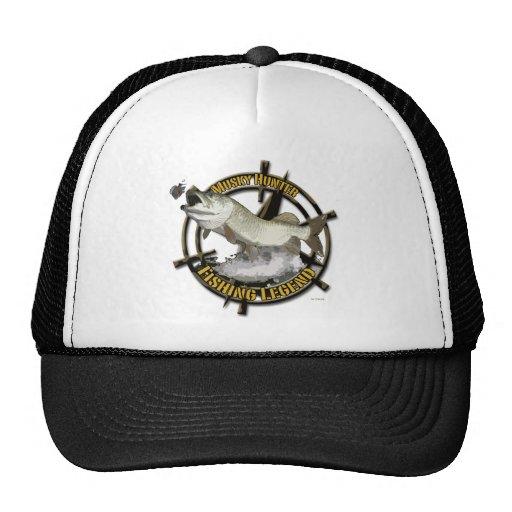 Leyenda almizclada del cazador gorra