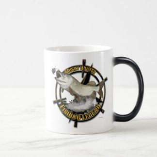Leyenda almizclada del cazador taza de café