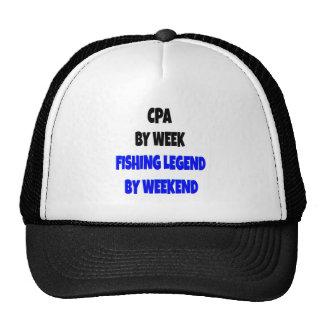Leyenda CPA de la pesca Gorra