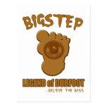 Leyenda de Bigstep de Dubfoot BIGFOOT DIVERTIDO DU Postal