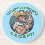 Leyenda de Geocaching Posavasos Personalizados