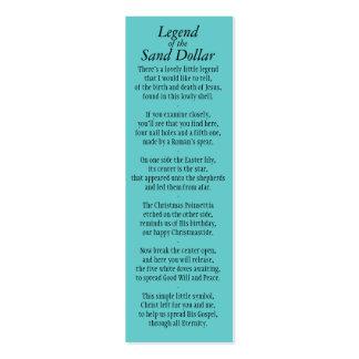 Leyenda de la señal Revised* del dólar de arena Plantillas De Tarjeta De Negocio