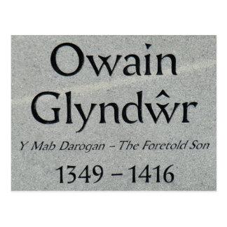 Leyenda de Owain Glyndwr Postales