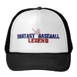 Leyenda del béisbol de la fantasía (2009) gorro de camionero