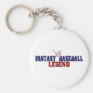 Leyenda del béisbol de la fantasía (2009) llavero redondo tipo pin