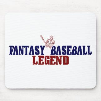 Leyenda del béisbol de la fantasía (2009) tapete de ratón
