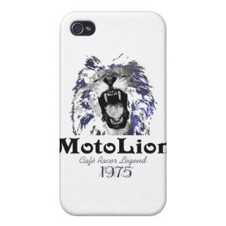 Leyenda del corredor del café de MotoLion iPhone 4/4S Fundas