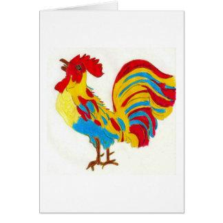 Leyenda del gallo tarjetas