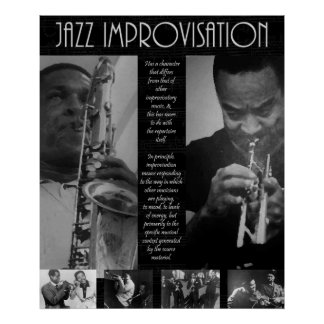Leyenda del jazz póster